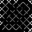 Increase Chart Pyramid Up Pyramid Graph Icon