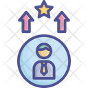 Elevate Increase Expertise Expert Icon