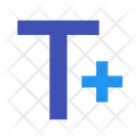 Enhance Enlarge Font Icon