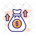 Increase Funds Financial Growth Income Icon