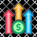 Increase Income Icon