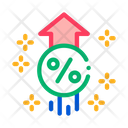 Interest Increase Rise Icon