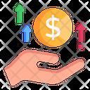 Increase Money Icon