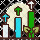 Increase Plantation Plant Growth Raise Icon