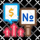 Increase Rates Icon