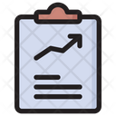 Increase Report Finance Report Growth Traffic Icon