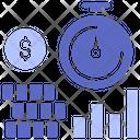 Increase Revenue Chart Increase Icon