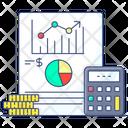 Market Profit Increase Sales Income Growth Icon