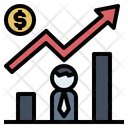 Investing Increase Earning Icon