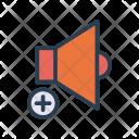 Increase volume Icon