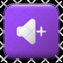 Increase Volume Ui Button Icon