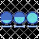Increasing Circle Process Icon