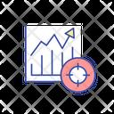 Increasing Diagram Icon