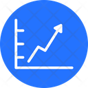 Increasing Graph Analysis Graph Icon