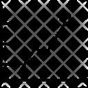 Increasing Graph Icon