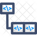 Increment Coding Code Increment Icon
