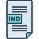 Ind File Icon
