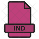 Ind Extension File Icon