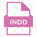 Indd Indd File Indesign Icon