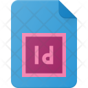 Indd Indesign Extension Icon