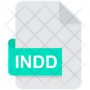 Indd Indesigne File Format Icon