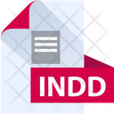 Indd File Indd File Format Icon