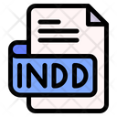 Indd File Type File Format Icon