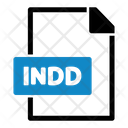 Indd File Format Icon