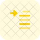 Indent Paragraph Icon
