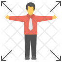 Independence Success Individuality Icon