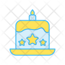 Independence Cake Icon