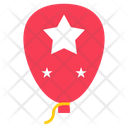 Independence Day Balloon Icon
