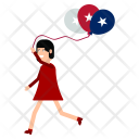 Independence Day celebration Icon
