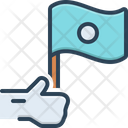 Independent Holding Freedom Icon