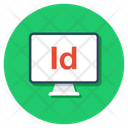 Indesign File Adobe Indesign Ind Format Icon