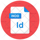 Indesign File Indesign Format Indesign Folder Icon