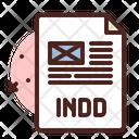 Indesign File Indesign File Design File Icon