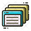 Index Card Paper Icon