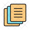 Indexed Pages Document Icon