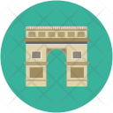 India Gate Place Icon