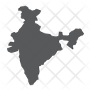 India Asia Geography Icon