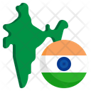 India Flag Country Nation Icon