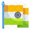 India Flag Nation Country Icon