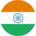 India Flag World Icon