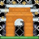 Delhi Landmark India Gate Indian Landmark Icon