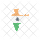India Map Country Icon