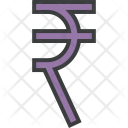 Indian Rupee Inr Icon