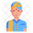 Indian Boy Icon