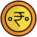 Indian Coin Currency Finance Icon