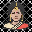 Indian Female Icon